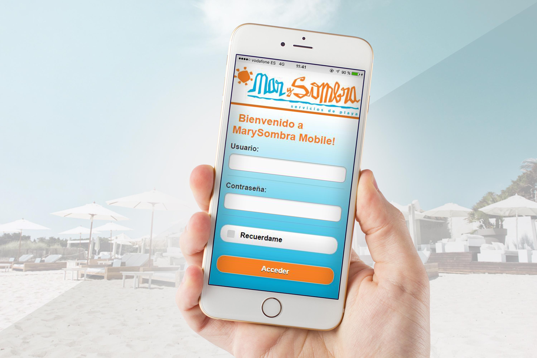 App Móvil Mar y Sombra