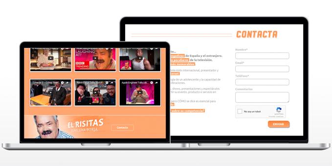 Diseño y Maquetación Web El Risitas