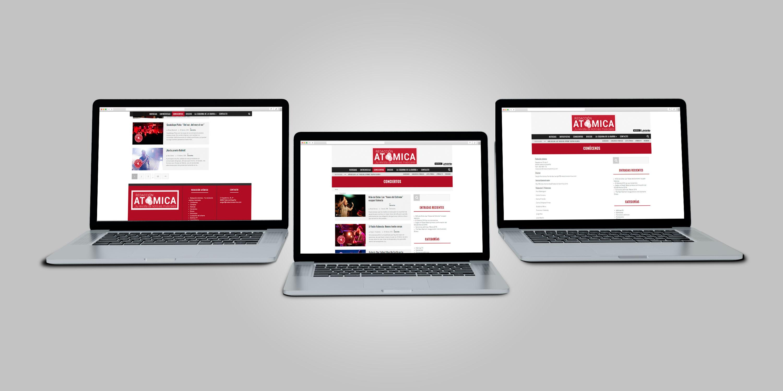 Diseño y Desarrollo Página Web Redacción Atómica