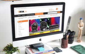 Diseño y desarrollo tienda online RSM Producciones