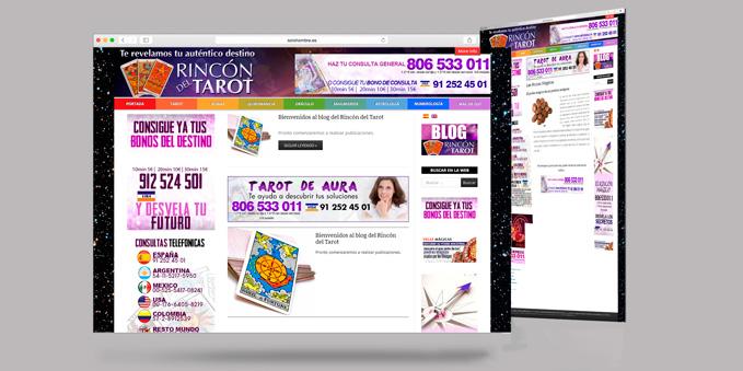 Desarrollo Web Rincón del Tarot