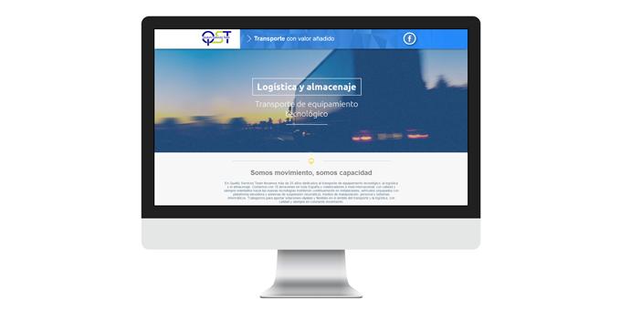 Diseño y desarrollo web Quality Services Team, S.L.