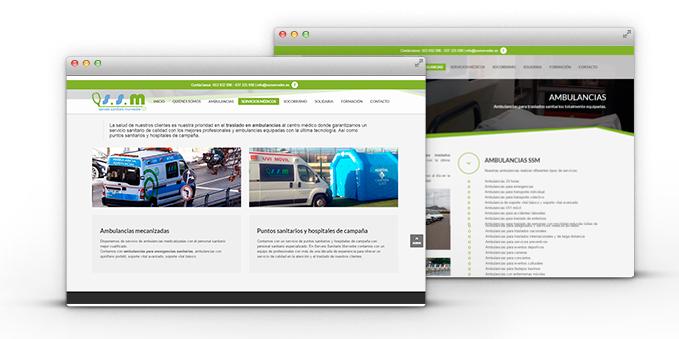 Diseño y Desarrollo Web Serveis Sanitaris Morvedre