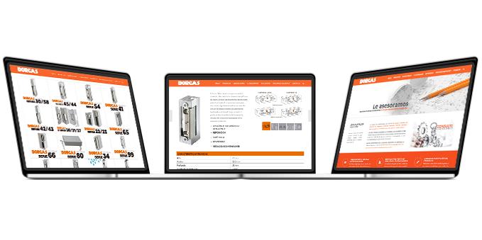 Diseño y desarrollo web Dorcas