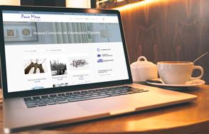 Diseño tienda online Paco Mora Cortinas