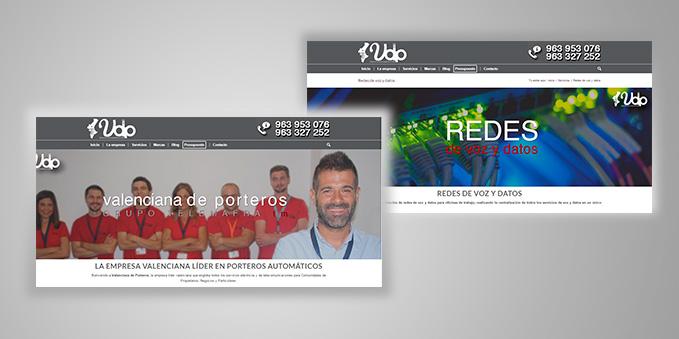 Programación y Diseño Web Valenciana de Porteros